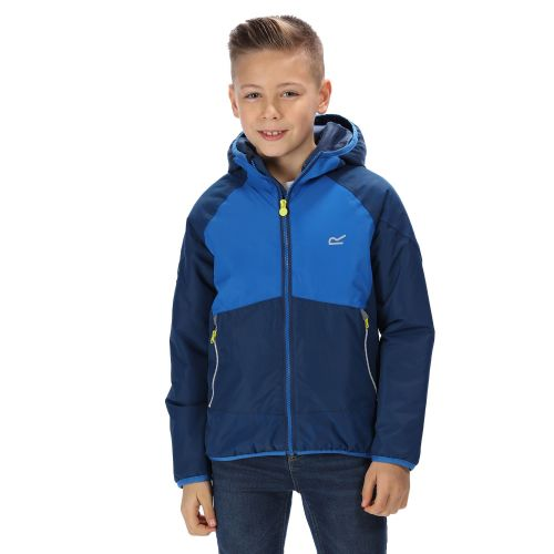 Kids' Volcanics III Waterproof Reflective Softshell Jacket Prussian Oxford Blue